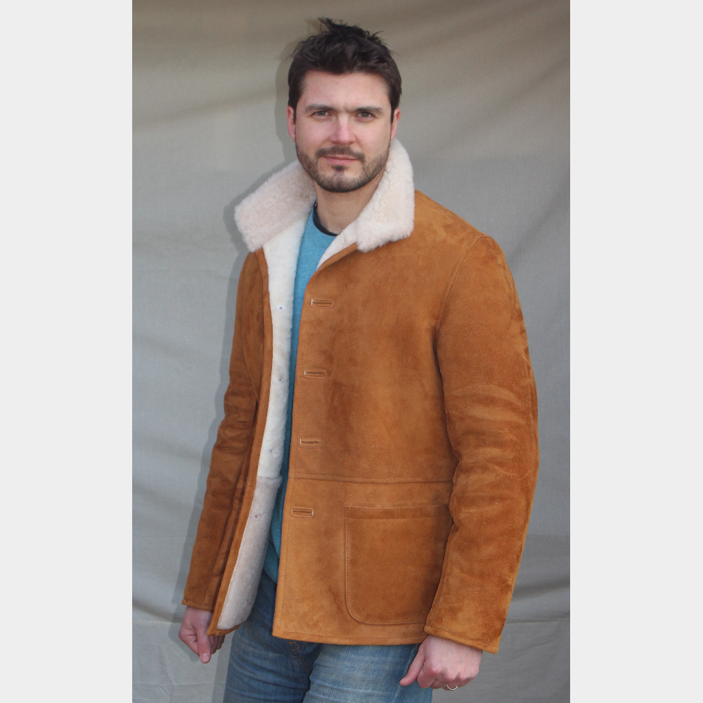 Sheepskin Mens Coats Uk